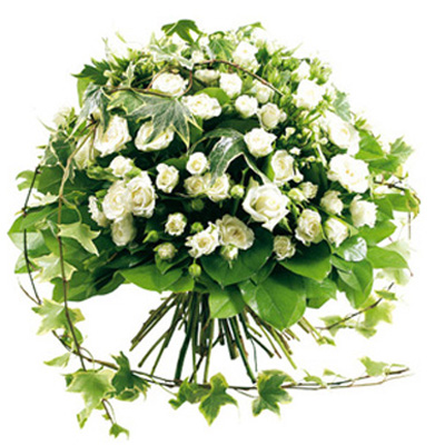 India flowers delivery, round wreath delivery